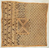African Kuba cloth Velvet bakuba raffia Africa kv341