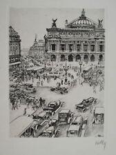 Estampes et gravures du XXe siècle et contemporaines signés architecture