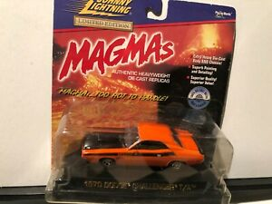 1/43 JOHNNY LIGHTNING MAGMAS 1970 DODGE CHALLENGER T/A ORANGE