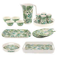 Cambridge Polynesia Bamboo Dinner Set Tableware Cutlery Eco Cups Plates Tray