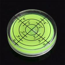 Spirit Bubble Degree Mark Surface Level Round Circular Measuring Meter 32x7mm