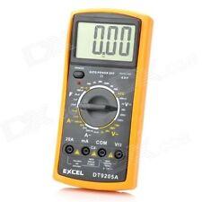 DT9205A Digital Multimeter LCD AC/DC Ammeter Resistance Capacitance Tester,