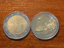 "Finland 2017:TOP 2 Euro(BU) Commememorative coin#BRANDNEW#""INDEPENDENCE""FR. ROLL"