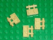 LEGO Tan Plate 1 x 2 with Handle 2540 / Set 10195 7191 6753 4195 7676 7665 ...