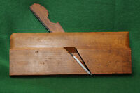"""Antique Vintage Ohio Tool 7/8"""" No 6 Round Woodworking Moulding Plane Inv#FB16"""