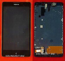 LCD SCHERMO DISPLAY E TOUCH SCREEN CON FRAME NOKIA XL NERO BLACK
