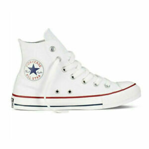Converse Unisex Chuck Taylor All Star Hi Top Black Lace Up Canvas Trainers