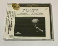 Arturo Toscanini Horowitz Piano SEALED BRAND NEW CD Brahms/Tchaikovsky Japan Obi