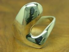 925 Sterling Argento Anello/in puro argento/3,3g/RG 58,5