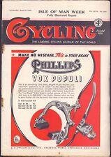 Vintage Cycling Magazine 29th June 1949 Isle of Man Week (BB 2)