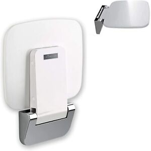 Folding Bath Shower Seat Attachment Durable with Wall Mount Chair Holds 353 lbs