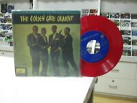 "The Golden Gate Quartet 7 "" EP Single Spanisch Down By River + 3 1960 Red Vinyl"