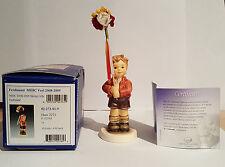 "Hummel Goebel 'Spring Gifts' 2273 Tmk8 4"" Membership 2008/2009"
