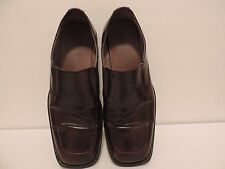 "Borelli ""Matthes"" men's shoes loafers slip on brown leather size 10.5"