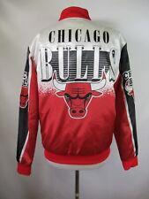 F2296 Men's CHICAGO BULLS NBA Basketball Full-Zip Jacket Size S