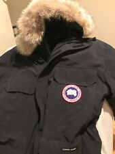 New Canada Goose EXPEDITION PARKA BLACK MENS JACKET  Large AUTHENTIC