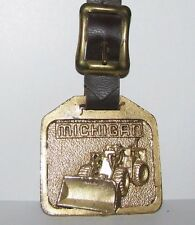 Michigan Tractor Shovel Wheel Loader Pocket Watch Fob Miller Equipment Michigan