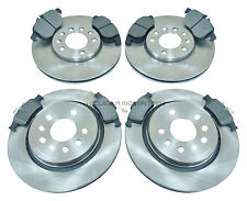 SAAB 9-3 93 02-09 FRONT REAR VENTED  BRAKE DISCS & PADS CHECK SIZE AS CHOICE