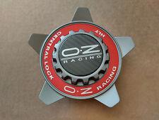 (1) OZ Racing Center Cap M668 Oz Formula Cover w RED ring PCM668-212