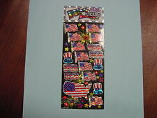 Patriotic Stickers For Scrapbooking