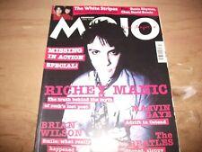 Mojo Feb 2002 Richey Edwards Manic Street Preachers White Stripes Bowie Cher