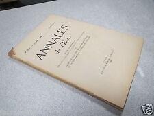 ANNALES DE L EST 1953 N° 3 Le fonds du Conseil d'Etat et de la Chancellerie  *