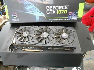 ASUS STRIX Nvidia GeForce GTX 1070 8gb Gaming GPU