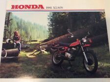 NOS Honda 81 1981 XL80S XL80 Sales Brochure Ad Advertisement ORIGINAL
