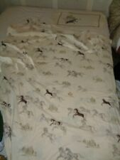 Single Quilt Cover & Pillow Case Horse Design