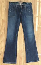 ABERCROMBIE & FITCH Womens LOW RISE FLARE JEANS - Size 2 (28x32)