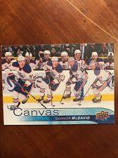 2016-17 UD Hockey Series 1 Canvas #c35 Connor Mcdavid Pack Fresh