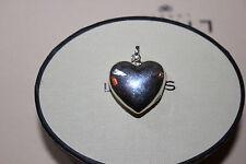 Genuine Links of London Sterling Silver Large Heart Keepsake Locket Pendant