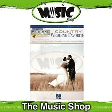New Country Wedding Favourites PVG Music Book & CD - Wedding Essentials