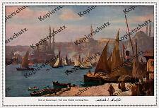 Georg Macco Istanbul Costantinopoli Porto pescatori vita Turchia ottomano Orient'16