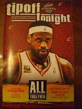 Cleveland Cavaliers & Chicago Bulls '10 Playoff Program