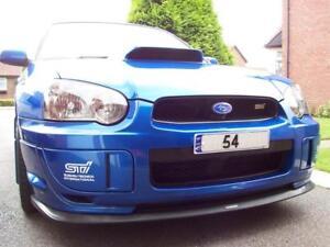 SUBARU Impreza Blobeye Splitter / Front Lip Spoiler 03-05 STi. PU, HT Autos UK.