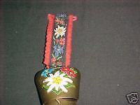 Decorative Bell on felt decorative hanger csx