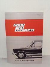 Uso e manutenzione Fiat 125 Special 5 marce - 1600 cc -