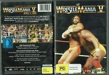 Wrestle Mania V (DVD 2013) - Region 4