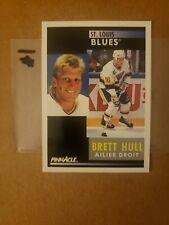 1991-92 Pinnacle - ( FRENCH VERSION) - Brett HULL - CARD #200  - NRMNT/MINT