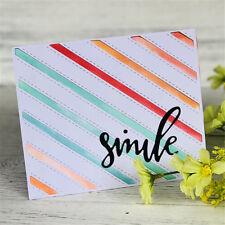 Smile Alphabet Metal Cutting Dies For DIY Scrapbooking Album Paper CardsFE