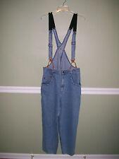 Levis Silvertab Overall Suspender Pants Back Bib Sz 34 x 28 RETRO RARE
