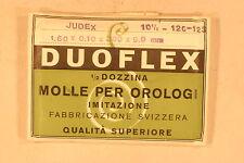 Mainsprings - Molle per JUDEX 120 NOS 6X