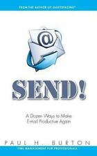 Send! : A Dozen Ways to Make e-Mail Productive Again by Paul Burton (2013,...