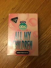 1991 Star Pics Soaps ABC ALL MY CHILDREN Complete 72 Card Set FACTORY SEALED BOX