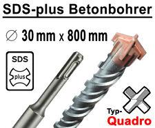 SDS-plus Betonbohrer 30 mm x 800 mm Quadro Bohrer Hammerbohrer Steinbohrer