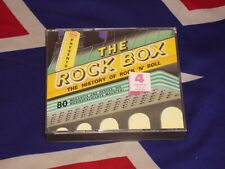 THE ROCK BOX - the history of rock'n'roll   4 CD BOX