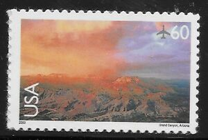 US Scott #C135, Single 2000 Air Mail 60c VF MNH
