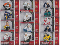 2010-11 Donruss The Ultimate Draft 13 Card Lot Getzlaf Bergeron NHL Hockey