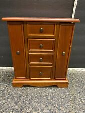 Beautiful Kohl's Wooden Jewelry Box Fall AR-2444-1WR Good Condition.